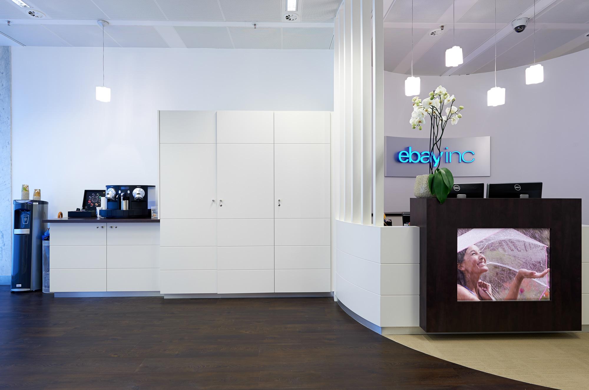 Miolux - menuiserie - Aménagement des bureaux Paypal / Ebay